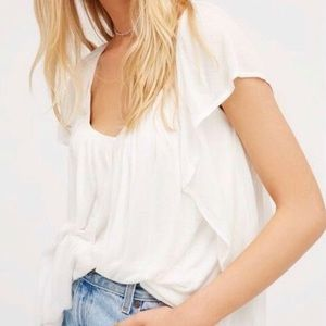 Free People Forever & Always Top in White